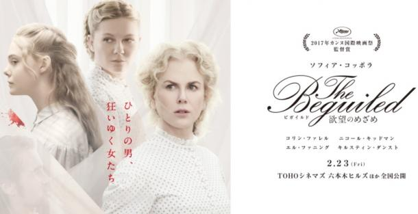 『The Beguiled/ビガイルド 欲望のめざめ』の公式サイトより