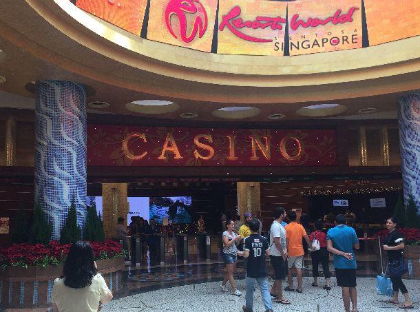 「ゲンティン・シンガポール」が運営するリゾート・ワールド・セントーサのカジノ=シンガポール
