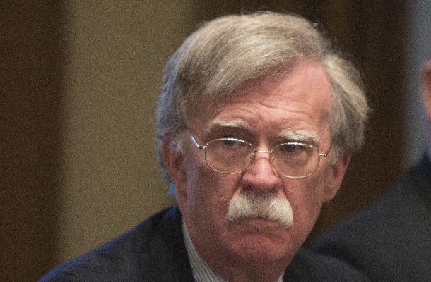 写真・図版 : ボルトン米大統領補佐官(国家安全保障担当)=AP