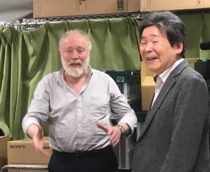 「ユーリー・ノルシュテイン監督公開講座」(東京藝術大学車道校舎)にて