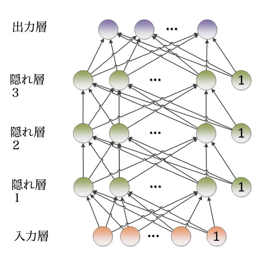 写真・図版 : ディープニューラルネットワーク(DNN)