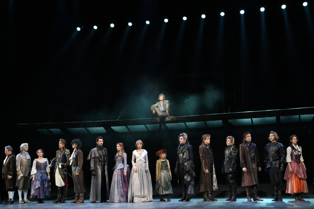 写真・図版 : ミュージカル『1789-バスティーユの恋人たち-』公演から=東宝演劇部提供