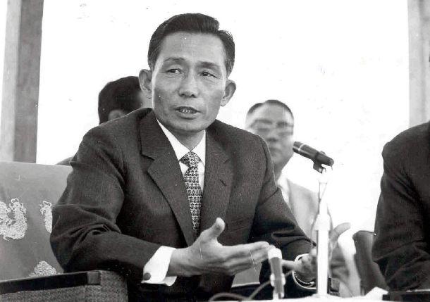 1970年代の朴正熙・韓国大統領