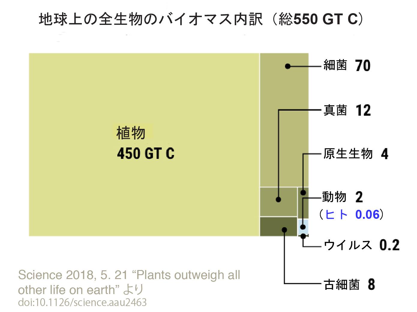 写真・図版 : GT Cは炭素換算ギガトン。ギガは10億。