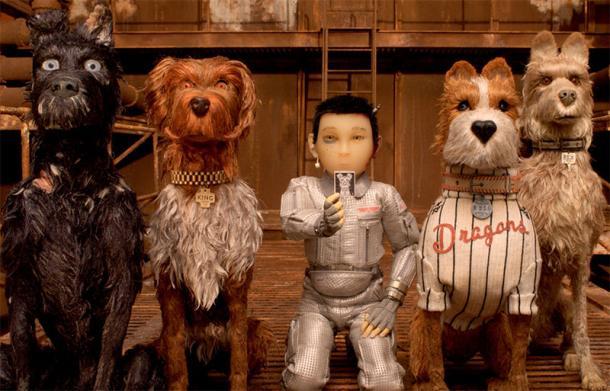映画「犬ケ島」から 〓2018 Twentieth Century Fox