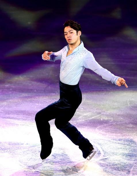 写真・図版 : 高橋大輔といえば、「世界一」と評された表現力=2014年ソチ五輪のエキシビションで