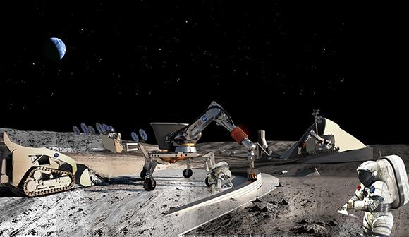 月面基地への道のり