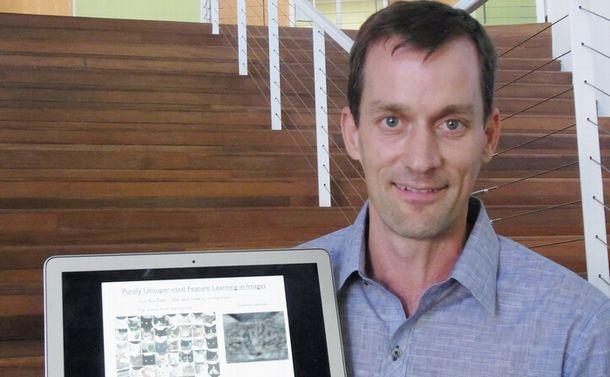 写真・図版 : グーグルのAI開発部門リーダーのジェフ・ディーン氏