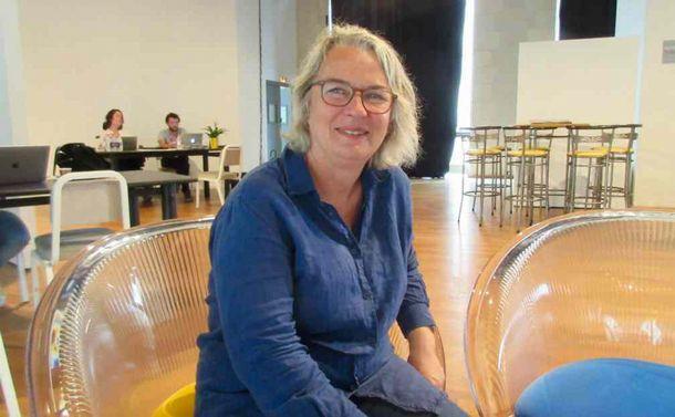 1977年から映画祭を育ててきた芸術ディレクター、プリュンヌ・アングレーさん