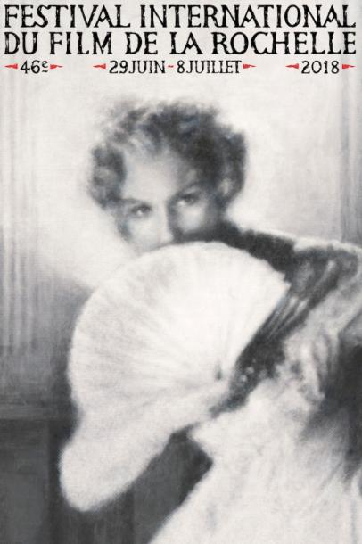 ラ・ロシェル映画祭のポスターは、イングマール・ベルイマンの『夏の夜は三たび微笑む』