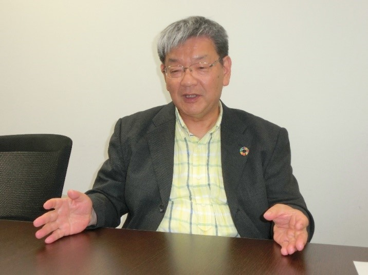 写真・図版 : パルシステム連合会の石田敦史理事長