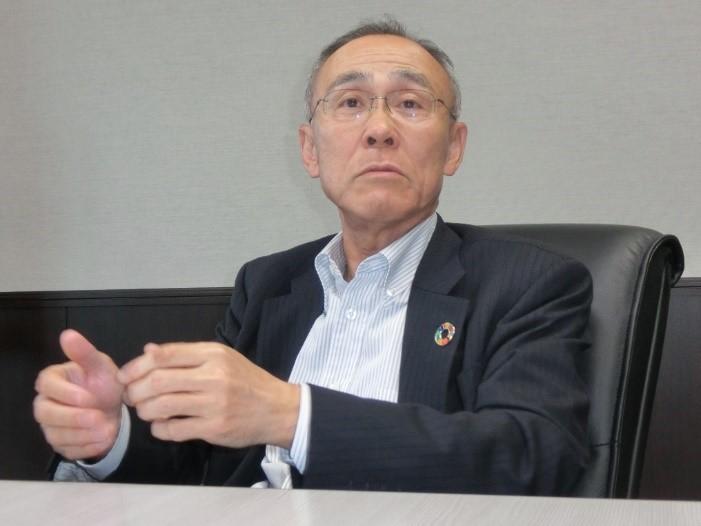 写真・図版 : 福井県民生協の竹生正人理事長