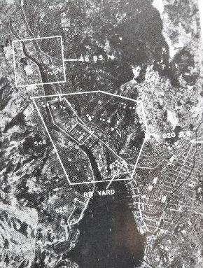 極東航空軍による長崎空襲(『米軍の写真偵察と日本空襲』工藤洋三)