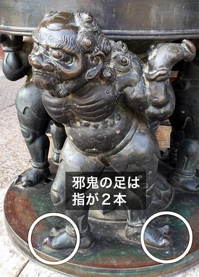 写真・図版 : 図2:奈良・東大寺の邪鬼