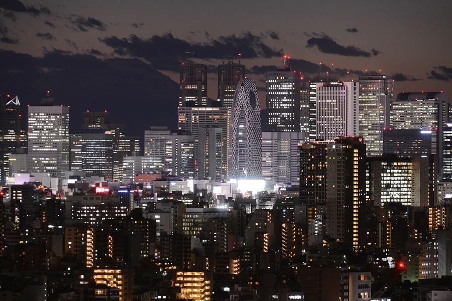 写真・図版 : 東京都心の夜景