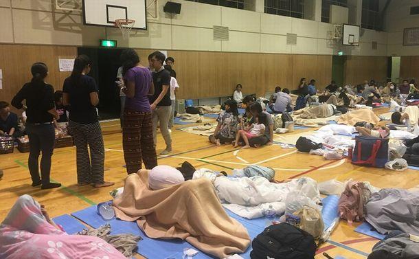 被災外国人たちの大阪北部地震