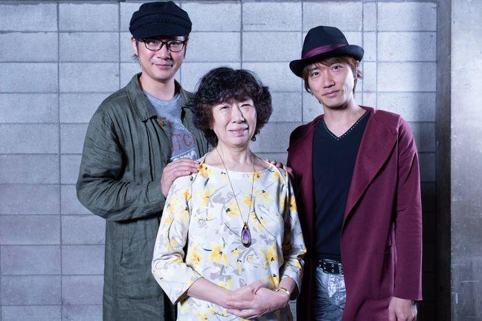 写真・図版 : 左から、岩﨑 大、倉田淳、山本芳樹=冨田実布撮影