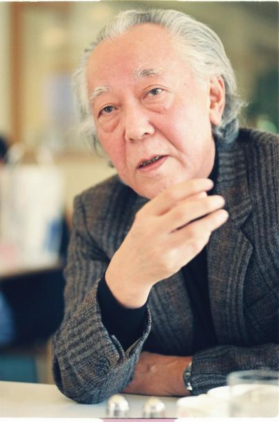 加藤周一氏=1992年