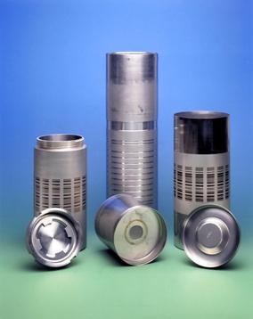 写真・図版 : プルトニウム廃棄の研究に使われる缶=NDA提供