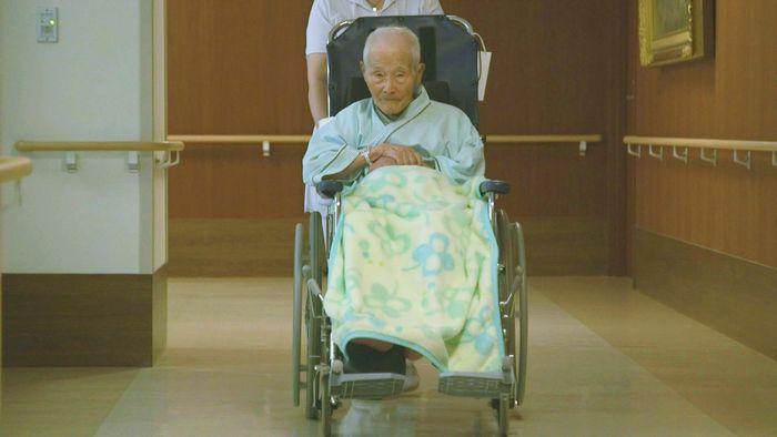 写真・図版 : 齋藤博圀元少尉が登場するラストシーン。放送後に永眠された「戦慄の記録 インパール」から