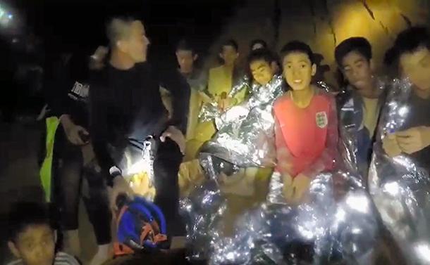 洞窟の少年たちを救ったマインドフルネス