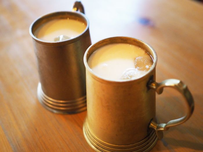 写真・図版 : 牛乳のうまみが凝縮されたラッシー