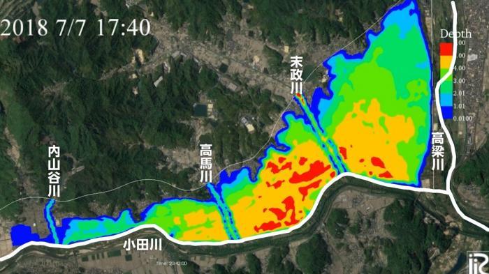 写真・図版 : 図2 東京理科大学・二瓶泰雄教授によるシミュレーション