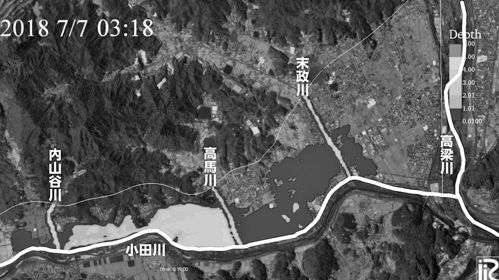 写真・図版 : 図2−1 東京理科大学・二瓶泰雄教授によるシミュレーション