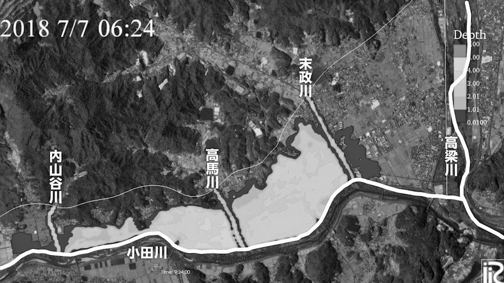 写真・図版 : 図2−2 東京理科大学・二瓶泰雄教授によるシミュレーション