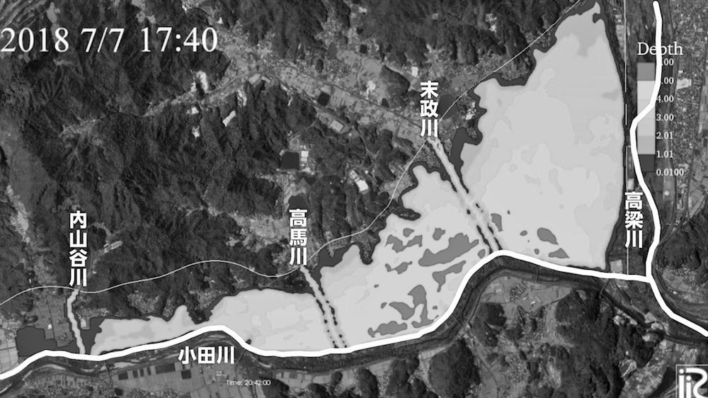 写真・図版 : 図2−3 東京理科大学・二瓶泰雄教授によるシミュレーション