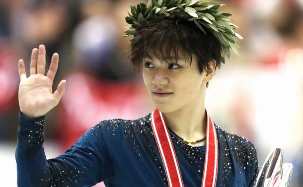 GP(グランプリ)シリーズのNHK杯で初優勝を果たした宇野昌磨。スケートカナダの優勝と合わせて2連勝