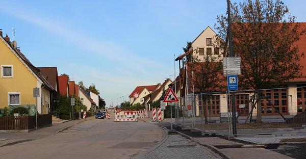 写真・図版 : バッカースドルフの街並み=2013年9月
