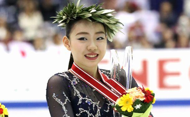 写真・図版 : グランプリシリーズ2連勝、衝撃的なシニアデビューを果たした紀平梨花