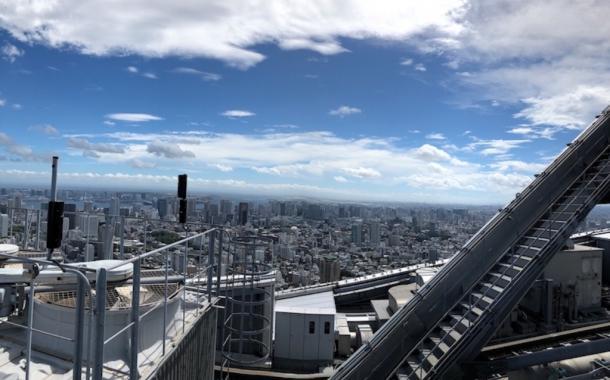 写真・図版 : 六本木ヒルズ森タワーから東京の街を見下ろす=撮影・筆者