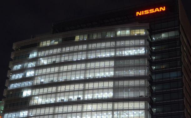 日産自動車が臨時の取締役会を開くグローバル本社ビル=横浜市西区