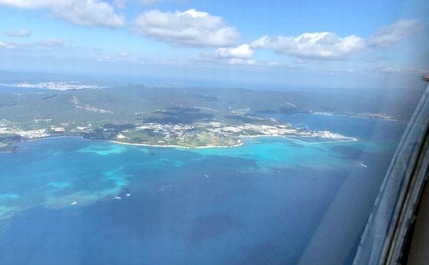 写真・図版 : 土砂が投入された2018年12月14日も辺野古の海はキレイだった(琉球朝日放送提供)