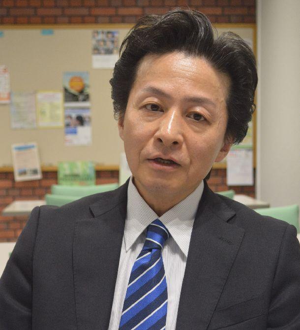 同志社大の大矢根聡教授(国際関係論)。日米半導体協議に詳しい=2018年12月、京都