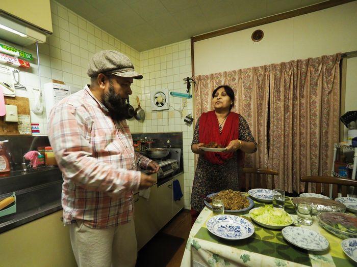 写真・図版 : 外食はほとんどせず、家のご飯で日々を過ごしているという