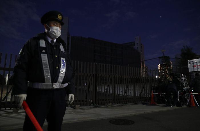 写真・図版 : 日産自動車のカルロス・ゴーン前会長が勾留されている東京拘置所=2018年12月21日