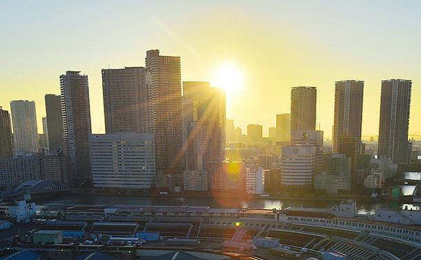 写真・図版 : 東京の初日の出。今年はどんな1年に......