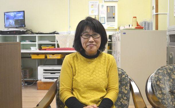 写真・図版 : つくば市立桜南幼稚園の宮本由美子園長
