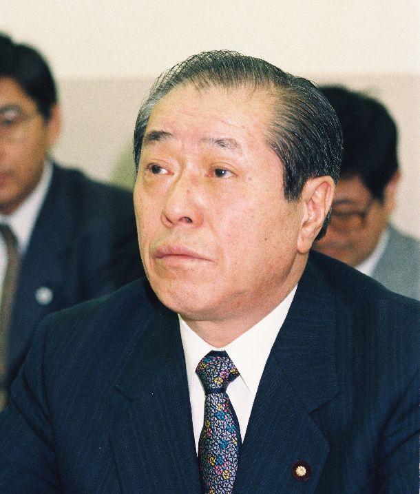 写真・図版 : 野中広務自治相・国家公安委員長=1994年10月21日