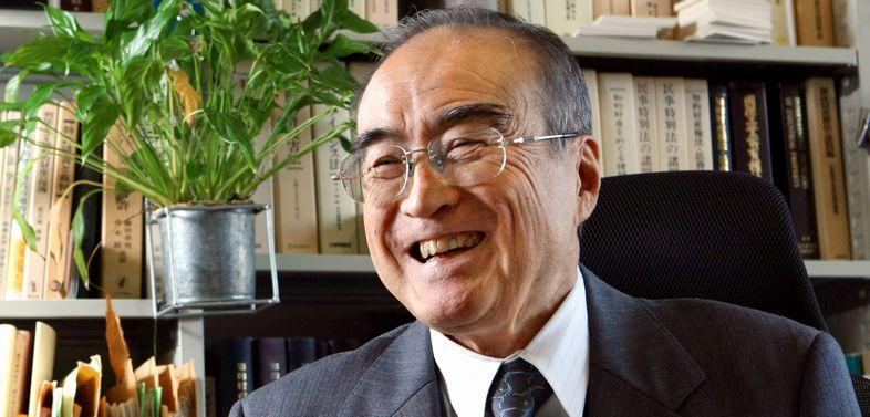 写真・図版 : 知的財産法の第一人者である中山信弘・東大名誉教授