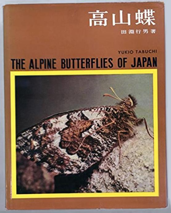 写真・図版 : 田淵さんの著書「高山蝶」