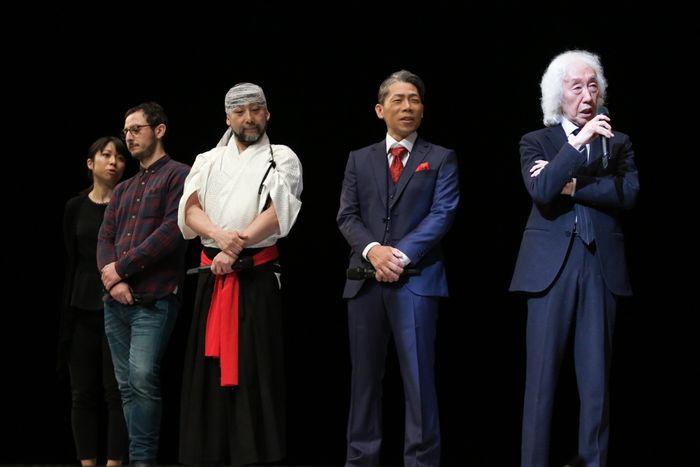 写真・図版 : 右から、髙平哲郎、HIDEBOH、島口哲朗、モーメントファクトリー=桑島写真スタジオ