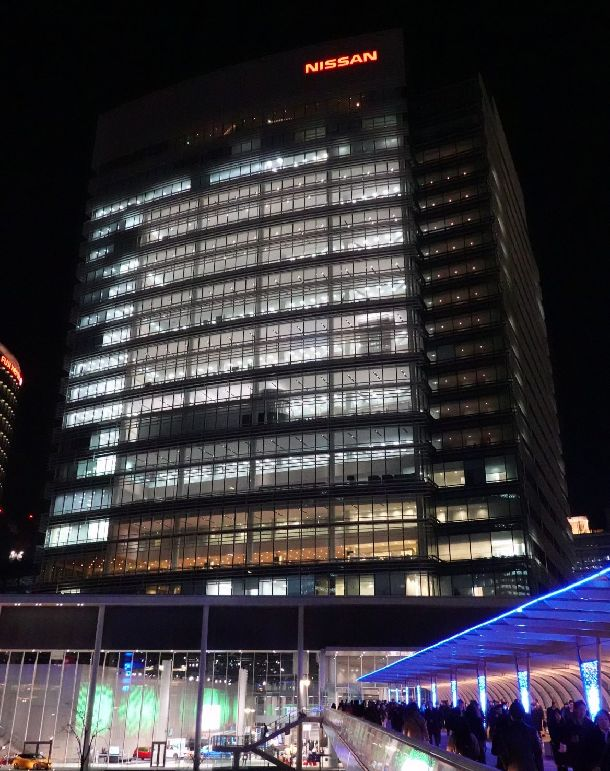 写真・図版 : 日産自動車グローバル本社=2018年12月21日、横浜市西区