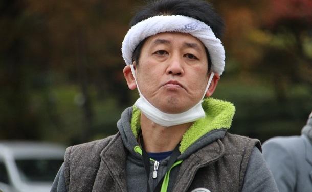 写真・図版 : 村木智義さん=2018年12月8日 撮影・筆者