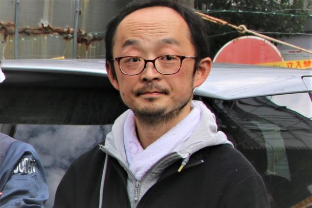 写真・図版 : 小松和史さん=2018年10月20日 撮影・筆者