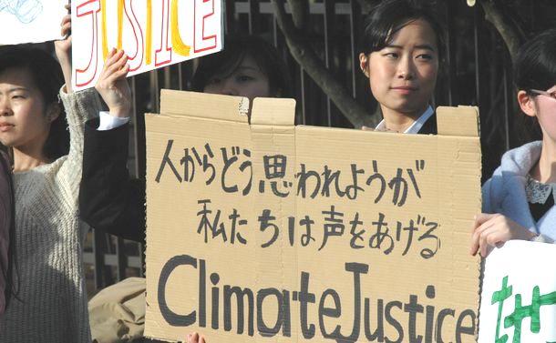 15歳スウェーデン少女の運動が日本にも広がった