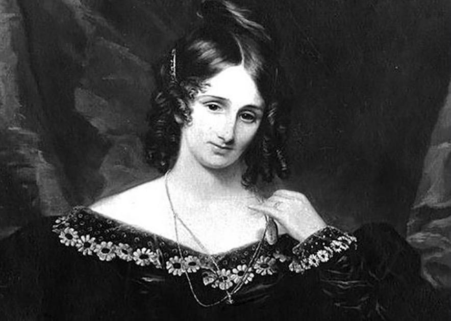 写真・図版 : メアリー・シェリーの肖像画